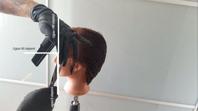 stepenovanje kose