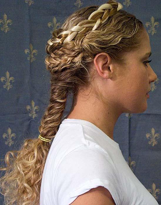 frizure grčke punđe