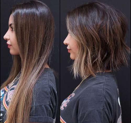 promena sa dugog na kratko kosa
