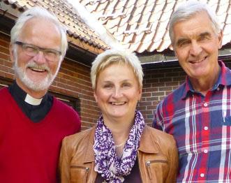 Staffan Stadell, präst, Veronica Widell, präst och psykoterapeut och Rolf Nordemar, smärtläkare medverkar.