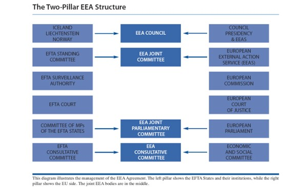 EEA Two Pillar Structure