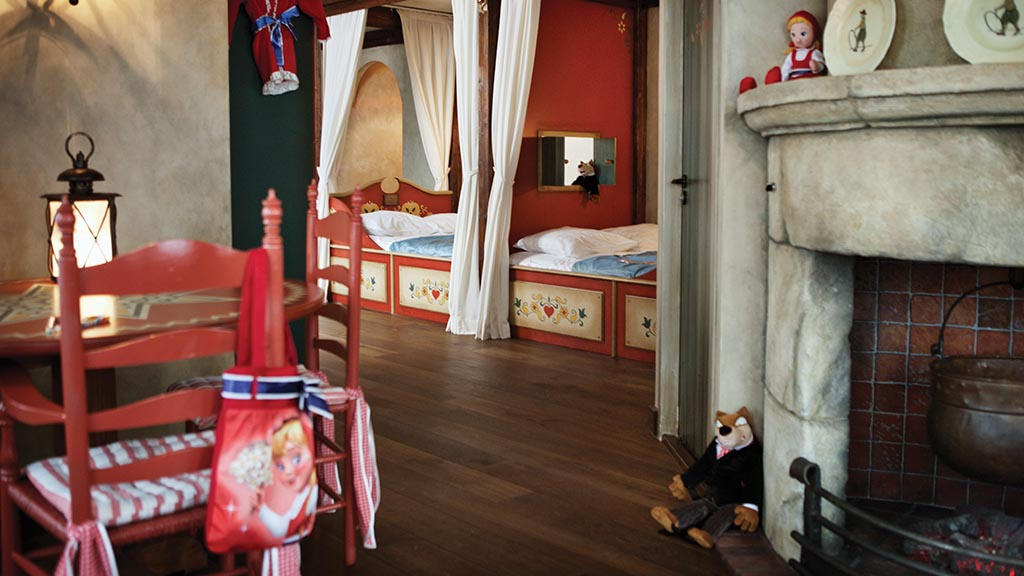 Suite Petit Chaperon Rouge Pour 4 Personnes LHtel Efteling