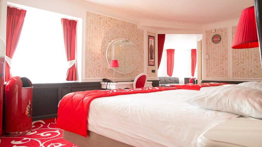 Coca Cola Suite  Efteling Hotel