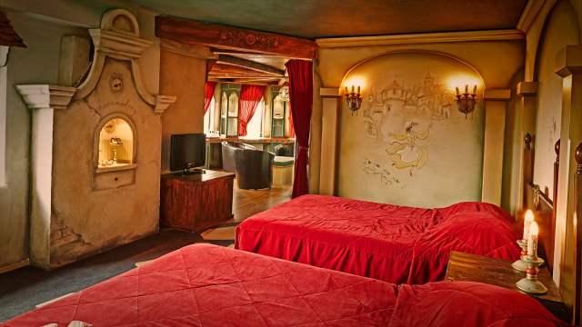 Hotelkamers en suites  Efteling Hotel