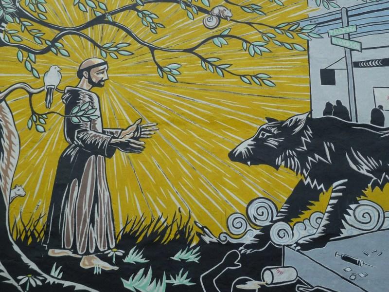 Ulven, røveren og munken – om Frans af Assisi og Giorgio Agamben