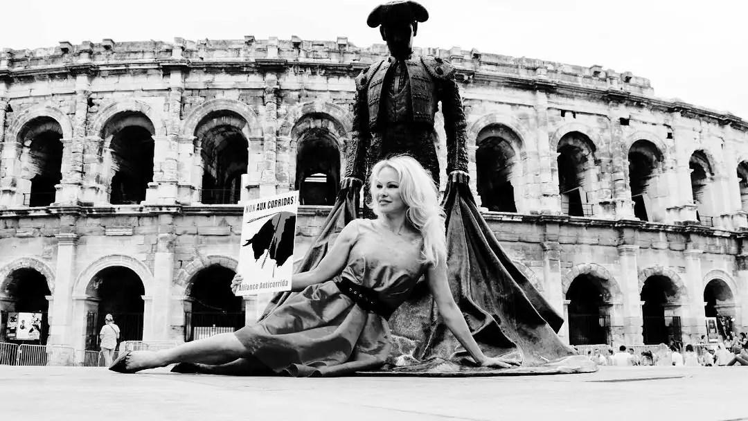 Interview: Pamela Anderson om optøjerne i Europa