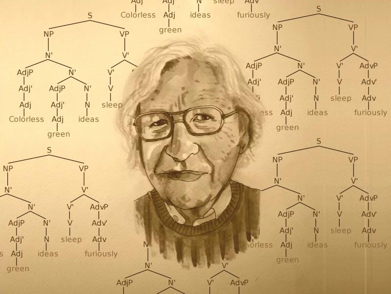 """Verden er mafiaen og USA er The Godfather"". Interview med Noam Chomsky"