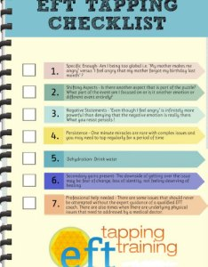 The eft tapping training checklist top things to never forget also rh efttappingtraining