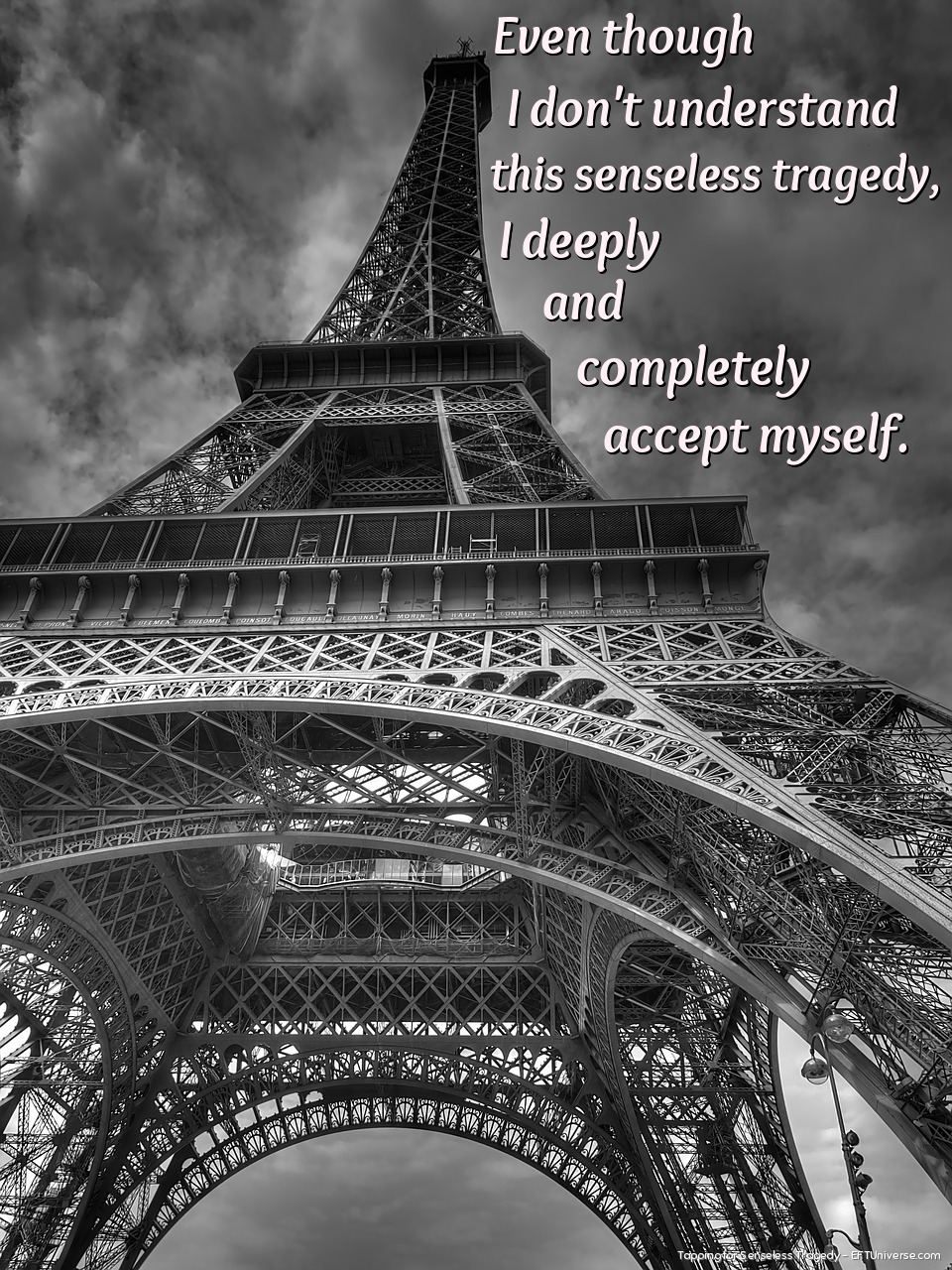 EFT Tapping statements for Senseless Tragedies