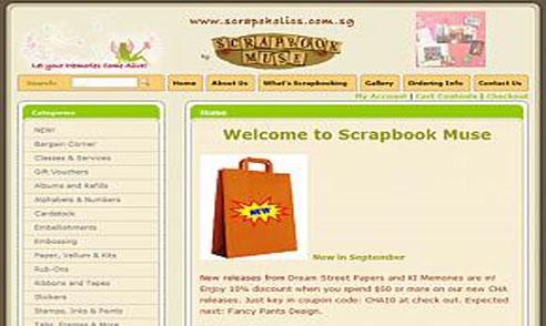 Scarpbook Muse