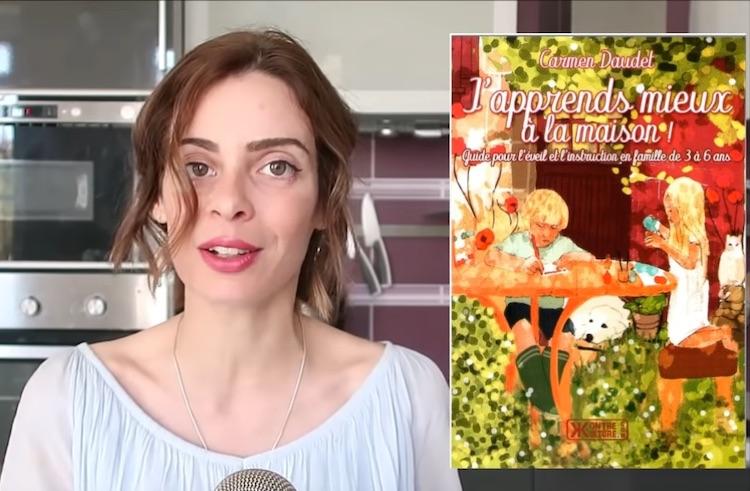 Virginie Vota présente J'apprends mieux à la maison de Carmen Daudet