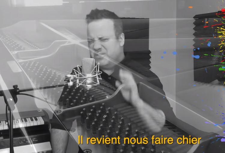 L'imitateur Christian Marc Gendron chante le Covid-19