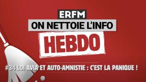 ONLI Hebdo #34 – Loi Avia et auto-amnistie : c'est la panique !