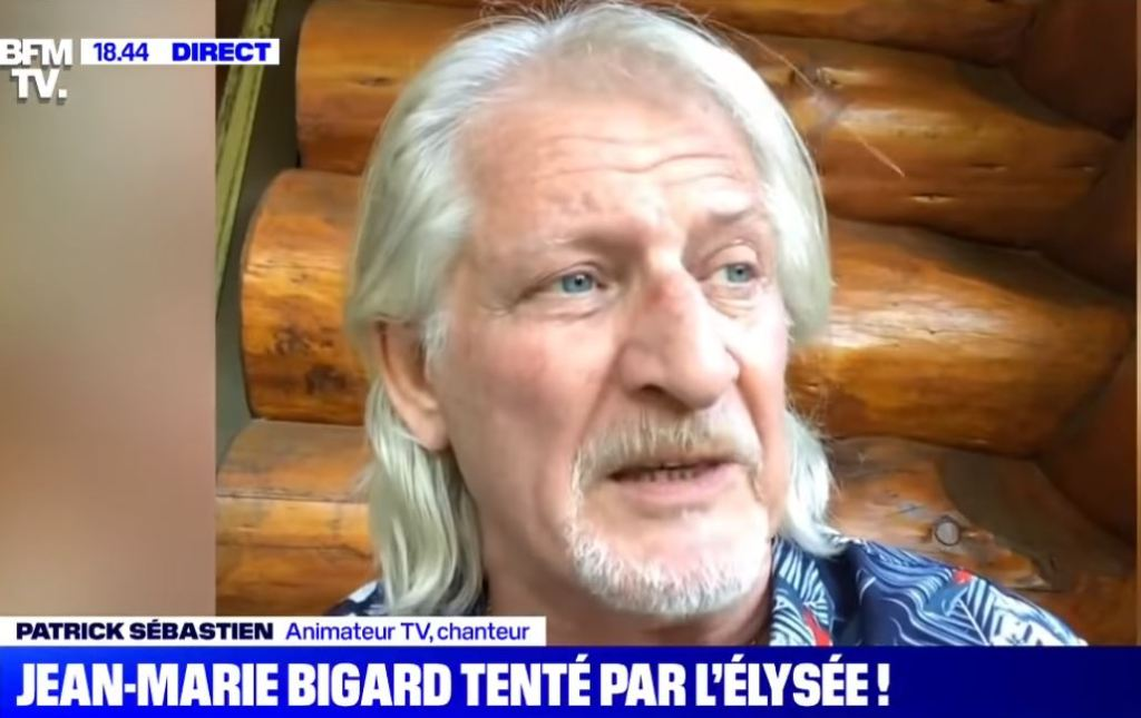 Patrick Sébastien sur BFMTV : Bigard, Macron et l'Élysée