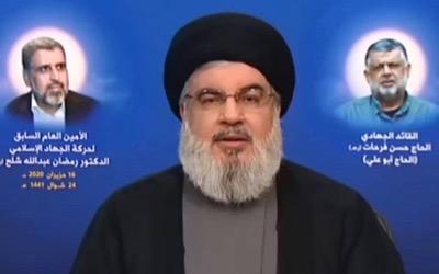 """Hassan Nasrallah : """"Les États-Unis veulent provoquer la famine au Liban"""""""