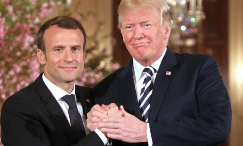 """Pour Trump, cité par Bolton, ce que touche Macron """"devient de la merde"""""""