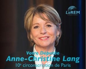 Détournement d'argent public : la députée LREM Anne-Christine Lang ne se prive de rien !