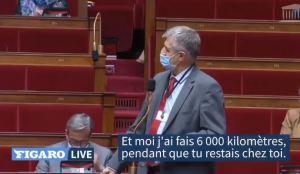 Jean Lassalle dézingue un député LREM et Emmanuel Macron à l'Assemblée