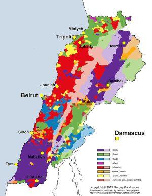 Vers une partition du Liban ?