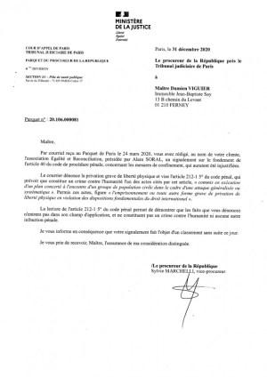 Confinement : le procureur de la République classe sans suite la demande d'ouverture d'une enquête contre Macron