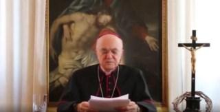 """Mgr Carlo Vigano dénonce les manipulateurs du Great Reset """"vendus à Satan"""""""