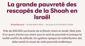 Coronavirus : Israël va toucher 30 millions de plus pour les rescapés de l'Holocauste