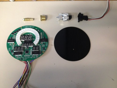 small resolution of parts included in kit 72 85 jeep digital dash