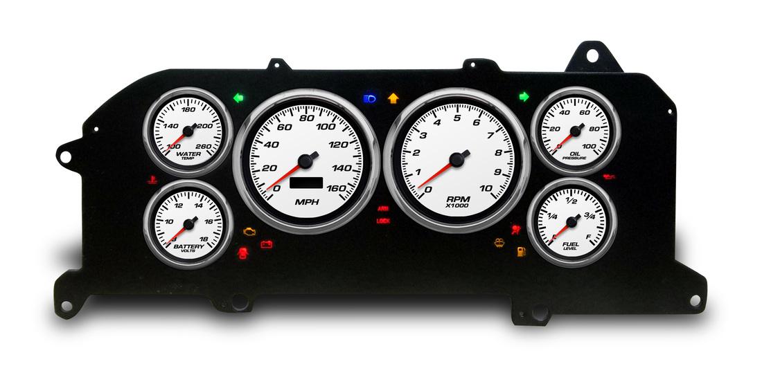 water temp gauge wiring diagram honeywell rth221 87 - 93 ford mustang direct fit packages egaugesplus