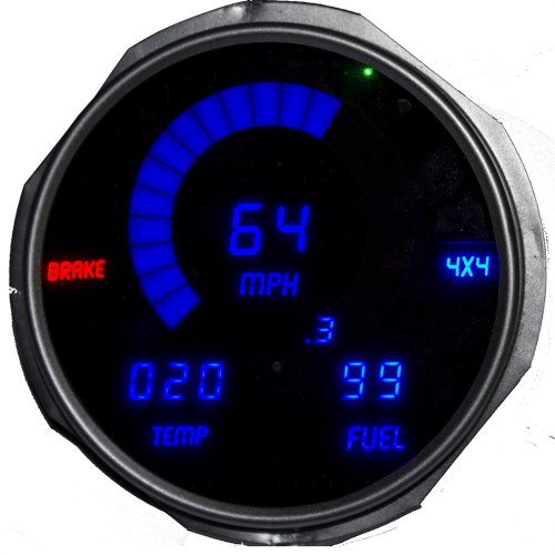 small resolution of 72 85 jeep digital dash blue dp6011b