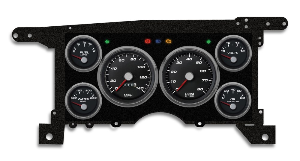 medium resolution of 86 93 s 10 15 performance black mech speedometer 90101 01