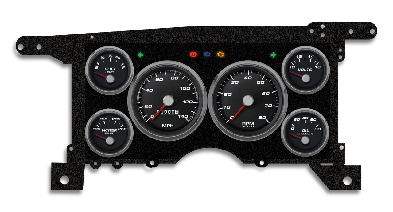hight resolution of 86 93 s 10 15 performance black mech speedometer 90101 01