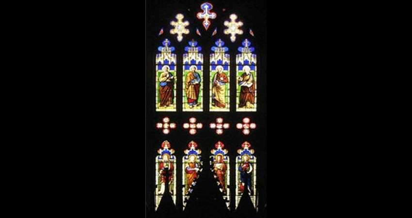 Church of the Holy Trinity Toronto Ontario EGD Glass Restoration - Stained Glass