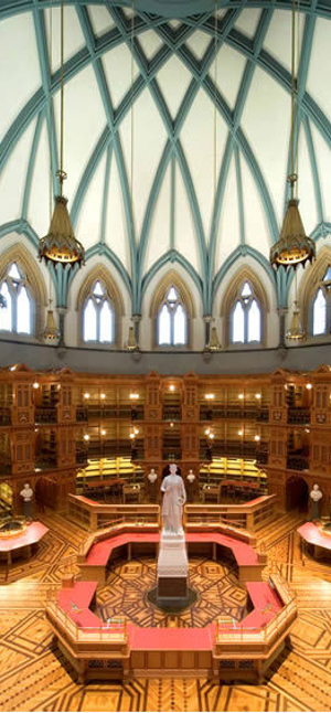 EGD Glass Stained Glass Portfolio Restoration Ottawa Parliament Hill Library