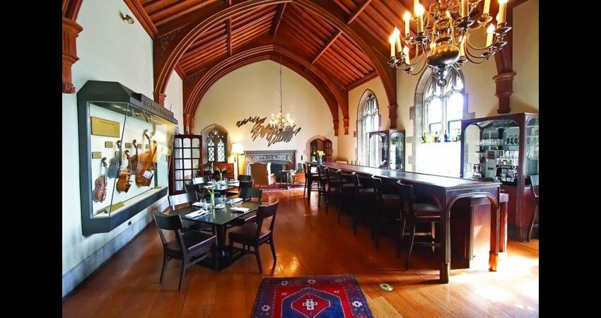 Hart House University of Toronto EGD Glass Restoration - Gallery Grill lounge