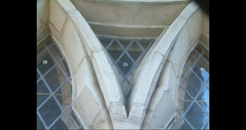 Library of Parliament Ottawa Ontario EGD Glass Restoration - External heritage windows
