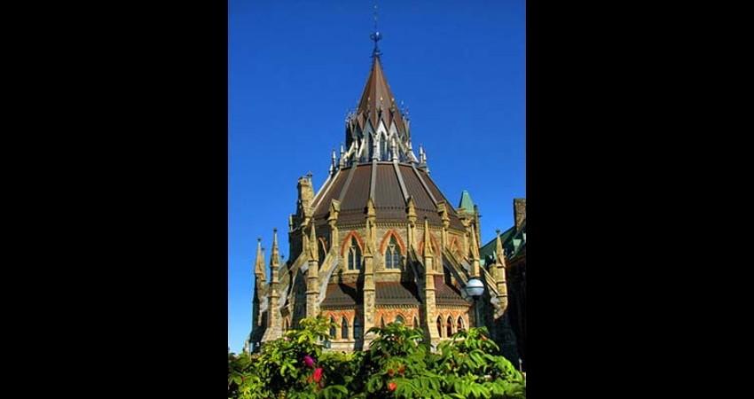 Library of Parliament Ottawa Ontario EGD Glass Restoration