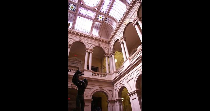 Osgoode Hall Law Society Toronto Ontario EGD Glass Restoration
