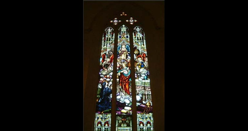St. Michael's Cathedral Toronto Ontario EGD Glass Restoration - Stained Glass