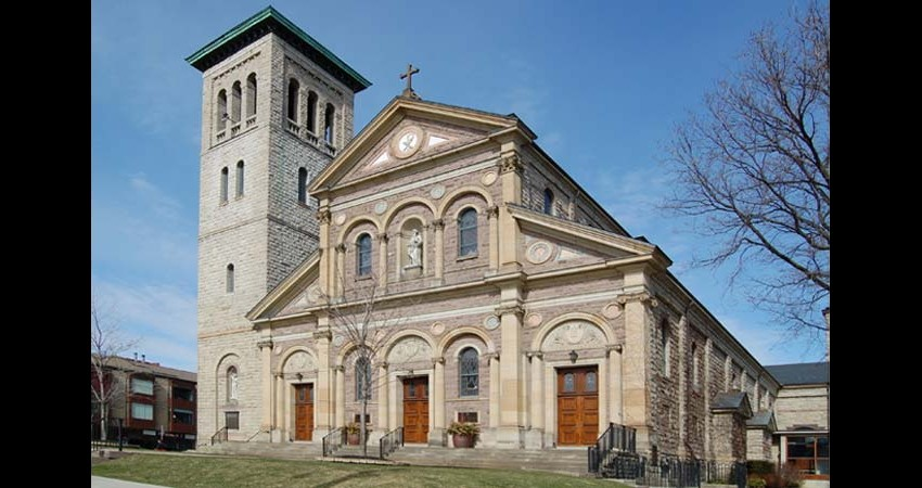 St. Paul's Basilica Toronto Ontario EGD Glass Restoration