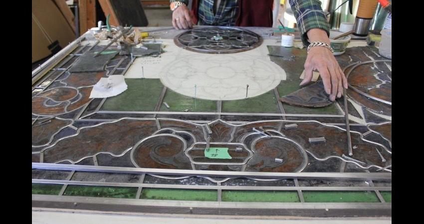 Holy Trinity Russian Orthodox Cathedral EGD Glass Restoration 4