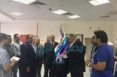 القاضى وعشماوى يتفقدان فرع جامعة بنها بالعبور|مصر اليوم العربيه |