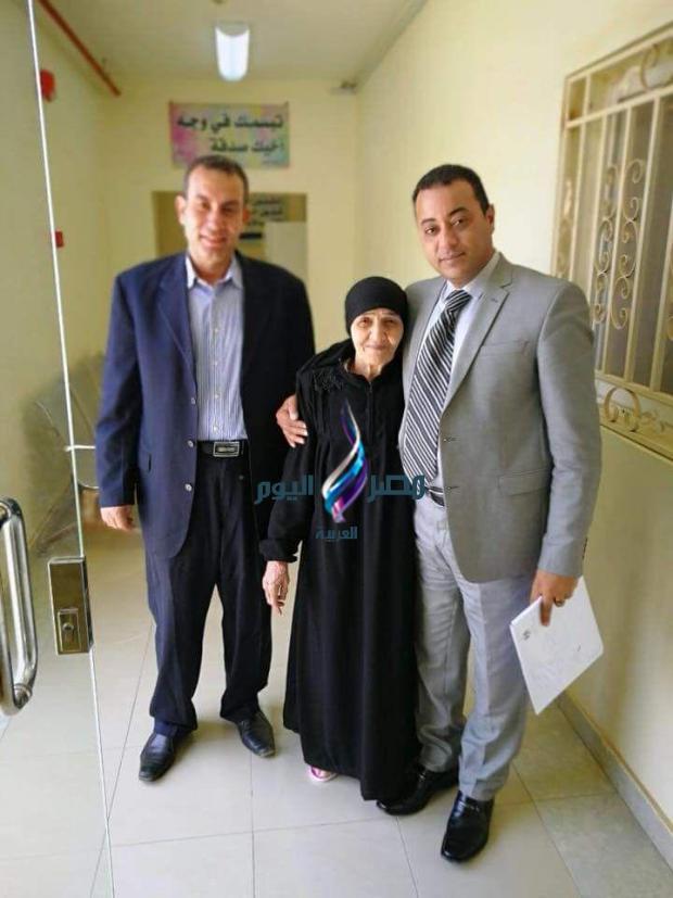 الافراج عن الحاجة سعدية وأدائها مناسك العمرة مصر اليوم العربية  