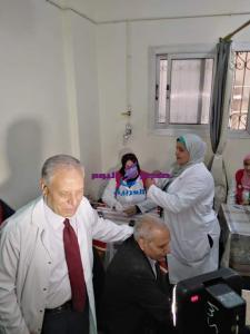 لليوم الثالث علي التوالي بزهراء العياط مجانا من اجل التيسير علي المواطنين والقضاء علي فيرس سي |