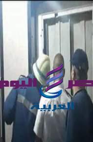 (إنقاذ أحد المواطنين تعطل به مصعد بأحد العقارات السكنية بمصر الجديدة ) |