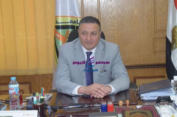 رئيس جامعة بنها يجري حركة تعيينات جديدة بجامعة بنها |