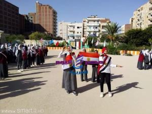النيلي يشهد احتفالية زاهر جلال ع بنات بالذكري ٤٦ لانتصارات |
