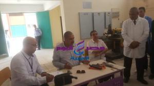 النيلي يتابع مسار العملية التعليمية بالمدرسة النووية بمدينة الضبعة |