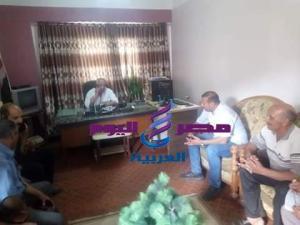 اللواء خالد حسن وزيارة مفاجئة لقرية ابومندور  
