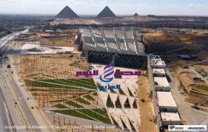 جولة تفقدية لوزير الاثار بالمتحف المصري الكبير
