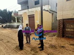 اللواء خالد حسن ضرورة زيادة الاعتمادات لخطة الرصف بالقرى